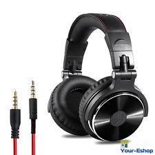 Professional Over-Ear Studio Monitor Mixing Headphones Headset Neodymium Driver