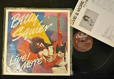 JAPANESE PRESSING Billy Squier Live & More Capitol 50136