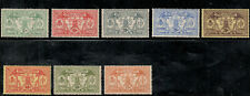 French New Hebrides Scott 11-18 (1911)