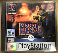 Medal of Honor: Underground (Sony Playstation 1, 2000)