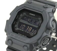 CASIO G-Shock GX56BB-1A All Matt Black Out Monotone LCD Solar X-Large @