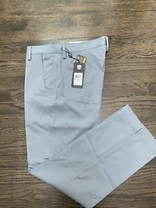 New Under Armour Sportswear Mens Size 34  32 Gray Golf Chino pants NWT