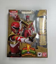 OPENED Bandai Tamashii SH Figuarts Mighty Morphin Power Rangers ARMORED RED