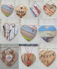 Handmade wood hearts pallet Driftwood vintage keys bottles industrial steampunk