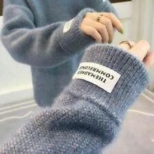 Pullover Ladies Turtleneck Female Cashmere Korean Knitted Sweater Jumper Women