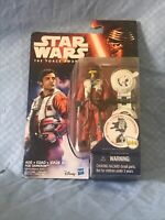Star Wars The Force Awakens POE DAMERON 3.75-Inch Figure Wave 1 Hasbro BRAND NEW