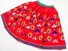 Gypsy Ethnic Banjara Boho Kuchi Rabari Tribal Embroidery India Belly Dance Skirt