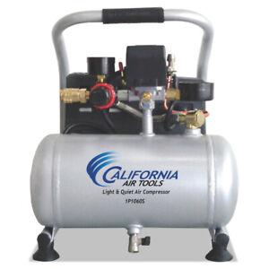 California Air Tools CAT-1P1060S 6 HP 1 gal Oil-Free Air Compressor New