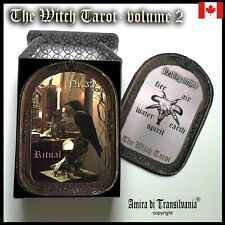 witch wicca tarot cards card deck rare vintage major arcana oracle book guide 2