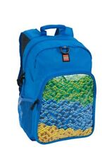 LEGO Brick Waterfall Heritage Classic Backpack, Blue