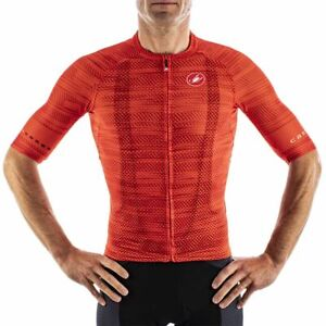 NEW Castelli CLIMBER'S 3.0 Cycling Jersey Fiery Red, Size 2XL