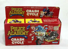1989 Vintage Kenner Police Academy Crash Cycle Toy Vehicle Boxed MISB Sealed NEW