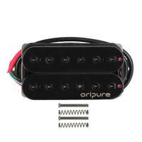 Oripure Electric Guitar Bridge Pickup Alnico 5 Humbucker Hex Poles Double Coil