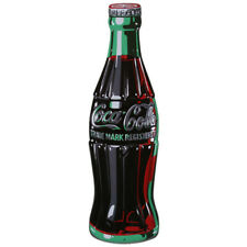 Coca Cola Coke Bottle Tin Sign 7 X 21in Home Decor Brown