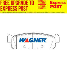 Wagner Brake Pad Set Rear DB1690WB fits Holden Viva 1.8 i (JF)