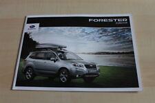 138819) Subaru Forester - Zubehör - Prospekt 03/2013