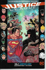 DC Universe  Justice League Vol 7 Justice Lost - TPB -NEW