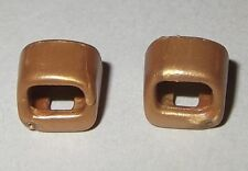 18702, 2x Schwert- Halterung (für Gürtel, Kragen, Gurt), gold