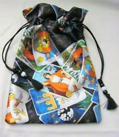 Tarot Themed Wicca Pagan Tarot Card Drawstring Mojo Bag Pouch ~ FREE SHIPPING