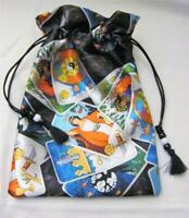 Tarot Themed Wicca Pagan Tarot Card Drawstring Mojo Bag Pouch