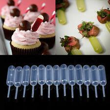50pcs 4ml kitchen Squeeze Dropper Clear Plastic Dessert Cupcake Transfer Pipette