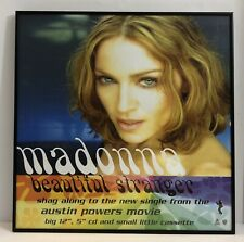 "Madonna Beautiful Stranger Single Promo 18"" x 18"" Framed Poster William Orbit"