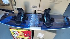 wakeboard outcast Bluewater 138 cm + velocity bindings