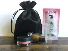 Bridal Gift, Mini Beauty Travel Set: bareMinerals w/ Brush, Hempz + FREE BAG