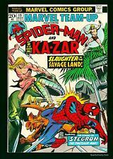 Marvel Team-up #19 NM+ 9.6 White   Comics