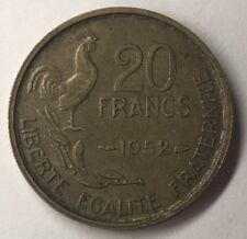 20 Francs Guiraud 1952 G. Guiraud Monnaie Française Achat Unitaire Voir Boutique