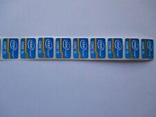 Intel Inside Core i5 sticker azul Blue 7x trozo de PCs pegatinas Label nuevo logotipo nuevo