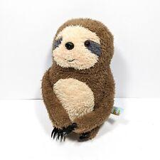 Bunnies By The Bay Sloth Plush Soft Toy Stuffed Animal, Brown Sam Soft