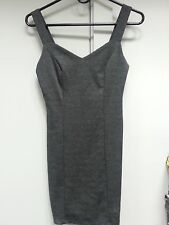 Charlotte Russe Black Fitted mini Dress w/ Open Back work size small