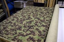 "PIXELATED WOODLAND FOREST PATTERN TWIL MILITARY CAMO FABRIC 64"" WIDE BY THE YARD"