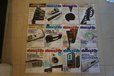 STEREOPHILE MAGAZINES 2014 TWELVE ISSUES GOOD CONDITION + SIX ISSUES FROM 2016