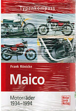 Typenkompass Maico Motorräder 1934-1994 Frank Rönicke