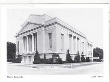 "*Postcard-""Temple Emanu-El"" -1917- /Hubbell & Greene St/ Dallas, Tx. (#73)"
