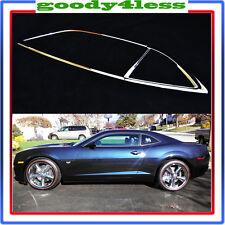 For 10-13 Chevy Camaro Chrome Side Window Trim Sill Bezel Molding Mold LH RH Set