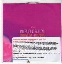 (BY484) Underground Railroad, Ginkgo Biloba / Lucky Duck - 2011 DJ CD