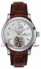 Jaeger-LeCoultre Master Tourbillon Dual Time Automatic 41mm Steel Q1658420
