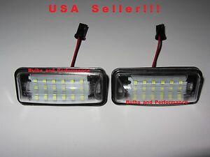 Subaru BRZ, Impreza, WRX, Legacy, Crosstrek White LED License Plate Lights 6000K
