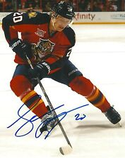 SEAN BERGENHEIM signed FLORIDA PANTHERS 8X10 photo w/ COA