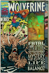 WOLVERINE #75 1993 HOLOGRAM ERROR VARIANT COVER FATAL ATTRACTIONS
