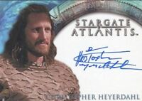 Stargate Atlantis Season One Christopher Heyerdahl Autograph Card