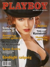 Playboy Hungary 2000/04 - Rebecca Scott - Alexa Eördögh - Thierry Mugler