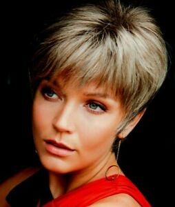 SALLY Noriko Wig MOST COLORS Monofilament Glamorously Layered Pixie BEST PRICES