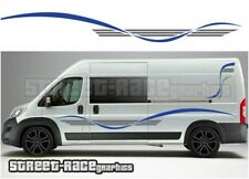 Motorhome Campervan 023 graphics stickers decal Fiat Ducato Citroen Relay Boxer