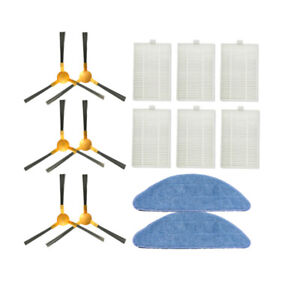 HEPA Filter Brushes Mop Kits For Proscenic 800T Robot Vacuum Cleaner Replacement