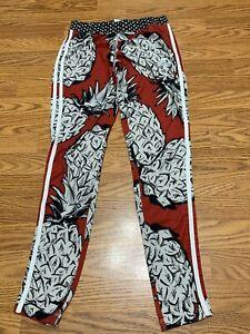 Adidas Vintage Style Desined Light Weight Pants Juniors Medium