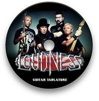 LOUDNESS GLAM HEAVY METAL ROCK GUITAR TAB TABLATURE SONG BOOK SOFTWARE CD